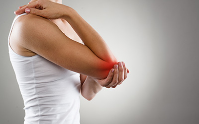 symptoms of dislocation, pain in elbow, inflammation and pain