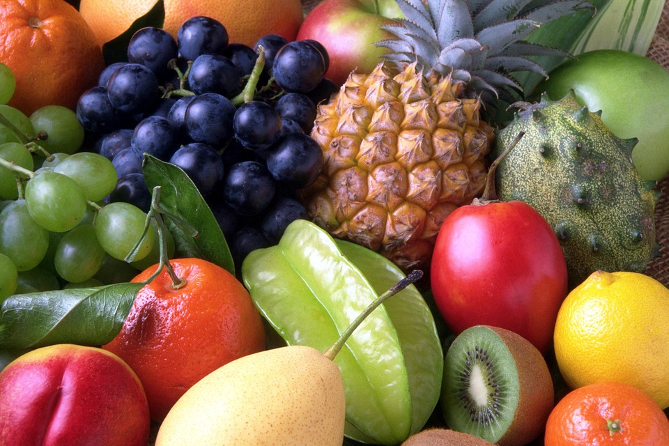 fruits, colorful fruits, fruit salad