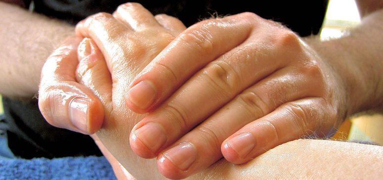 hand massage, oil massage, hot oil massage